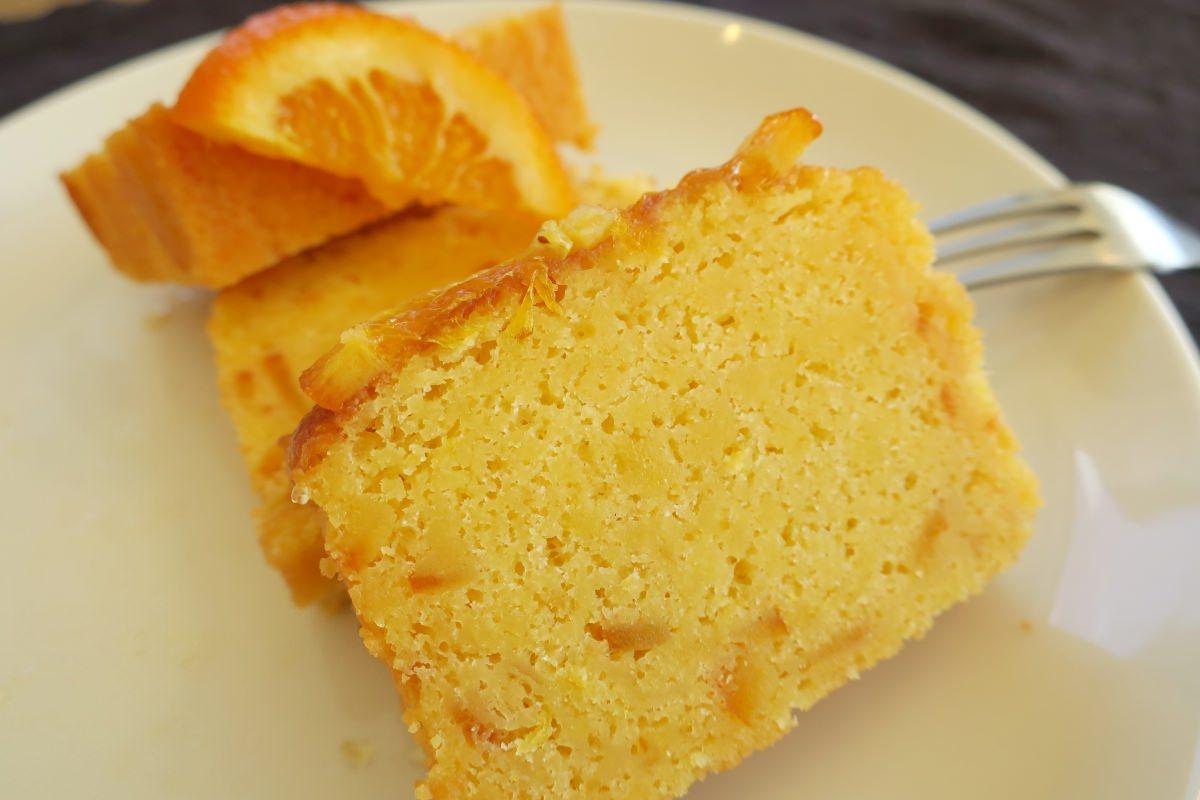 成城石井自家製オレンジケーキをギフトで