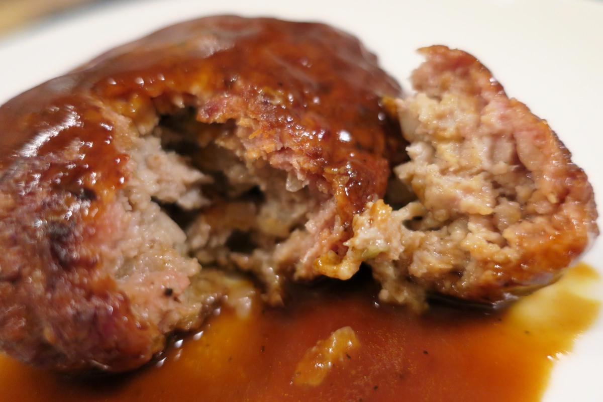 成城石井のハンバーグ(プレーン)は手作りハンバーグの美味しさ