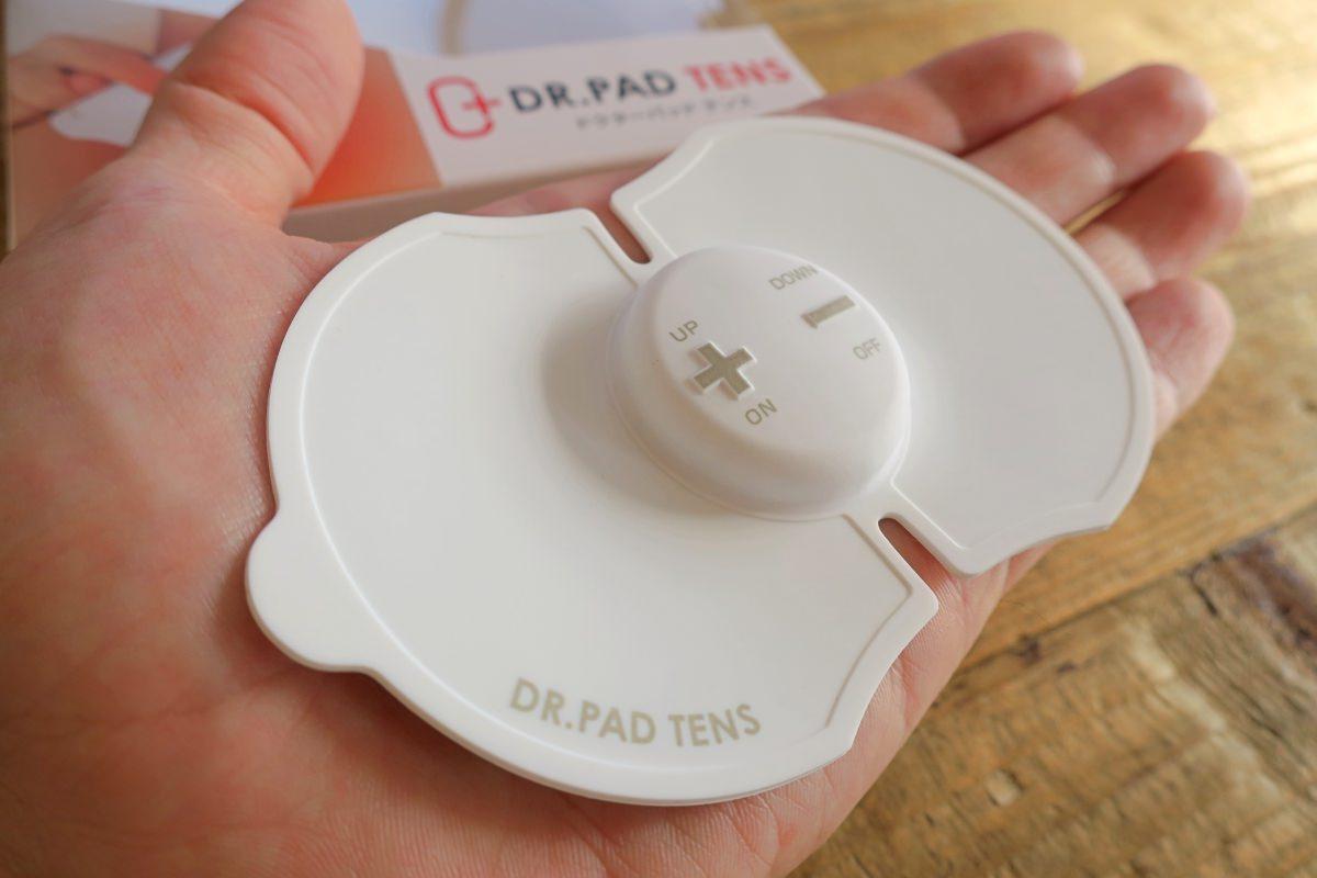 小型でコンパクトな低周波治療器