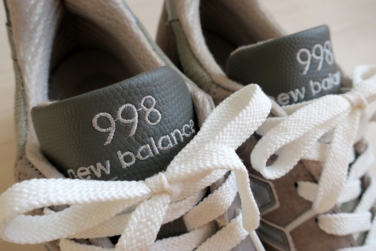 New Balance M998 GRAY MADE IN USA