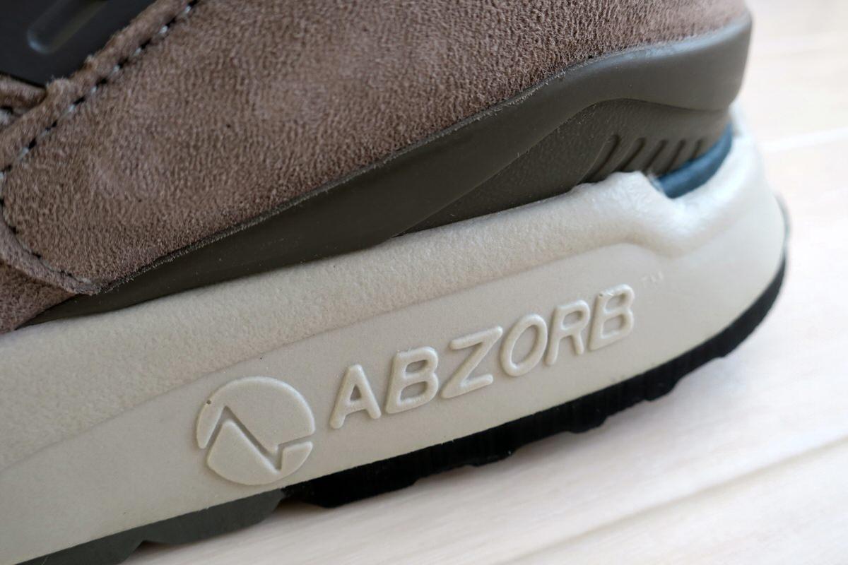 ABZORBを搭載したM998のソール