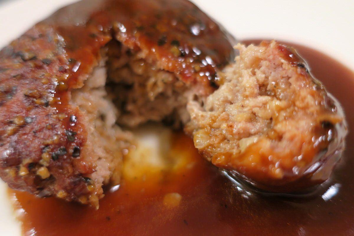 成城石井のペッパーハンバーグは美味い!