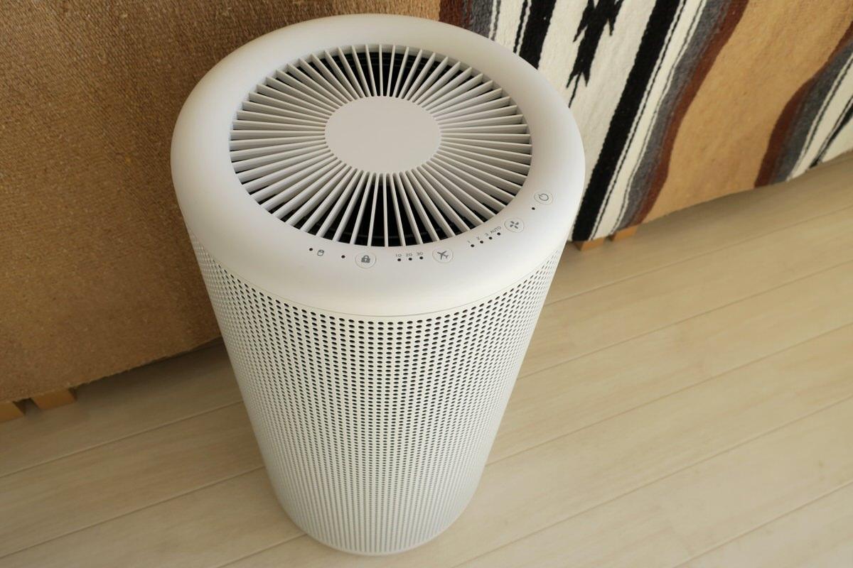シンプルでオシャレな無印良品の空気清浄機