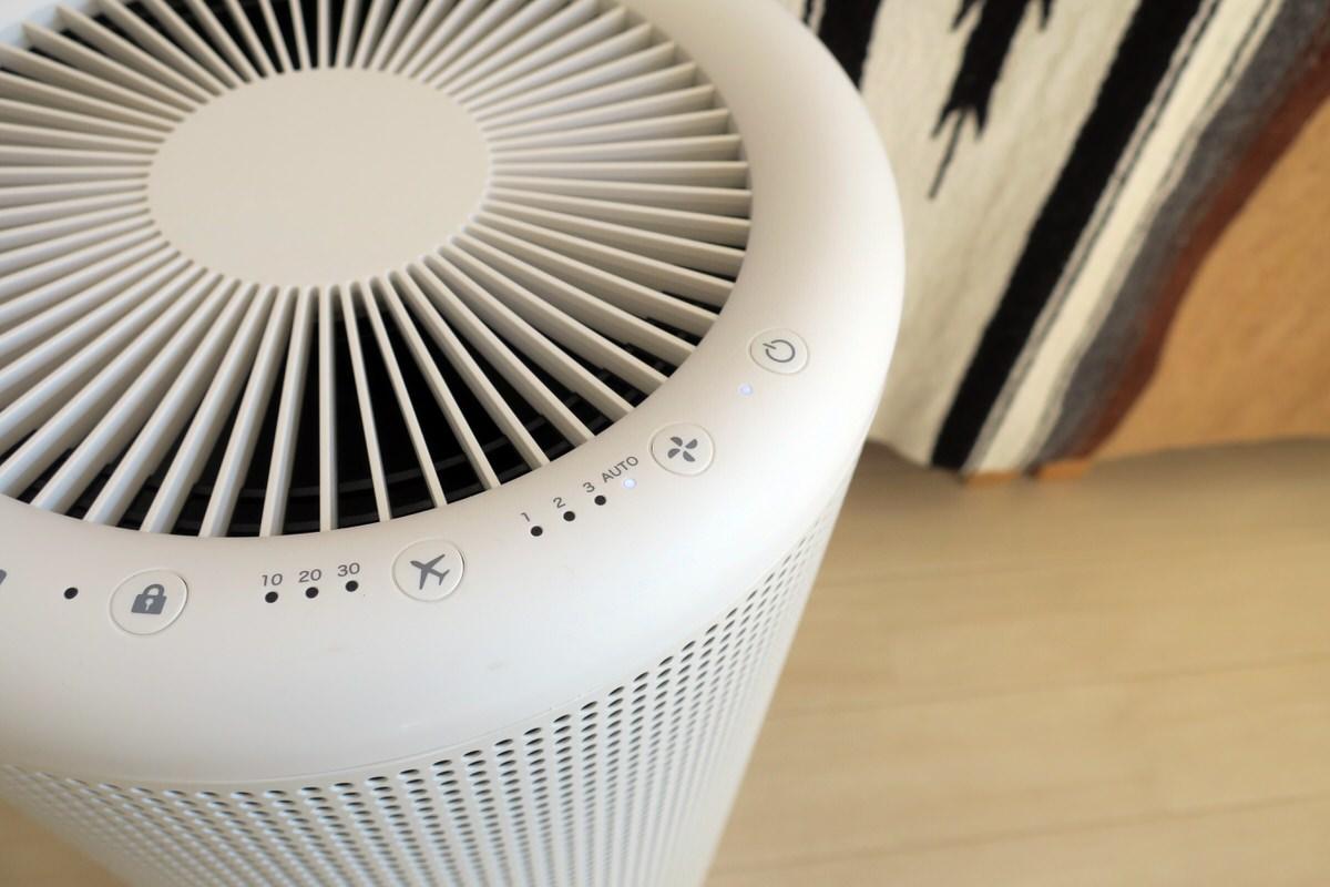 デザイン性の高い無印良品の空気清浄機