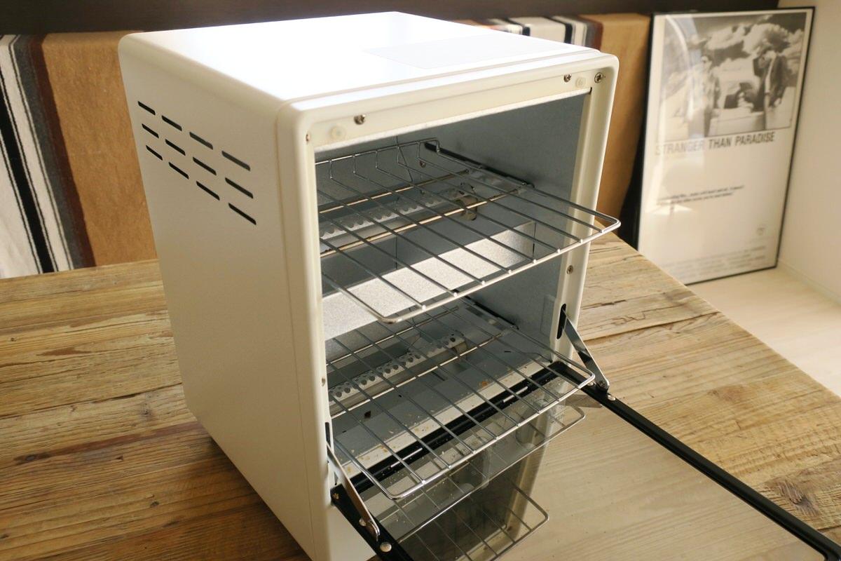 無印良品のオーブントースターはシンプルでオシャレなデザイン