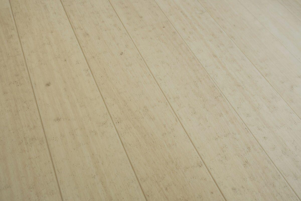 かなり床が汚れている