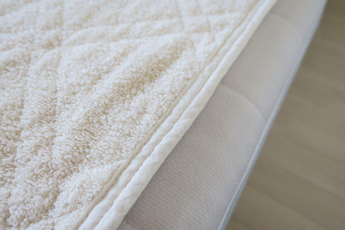天然素材のベットパッドは使い方に注意