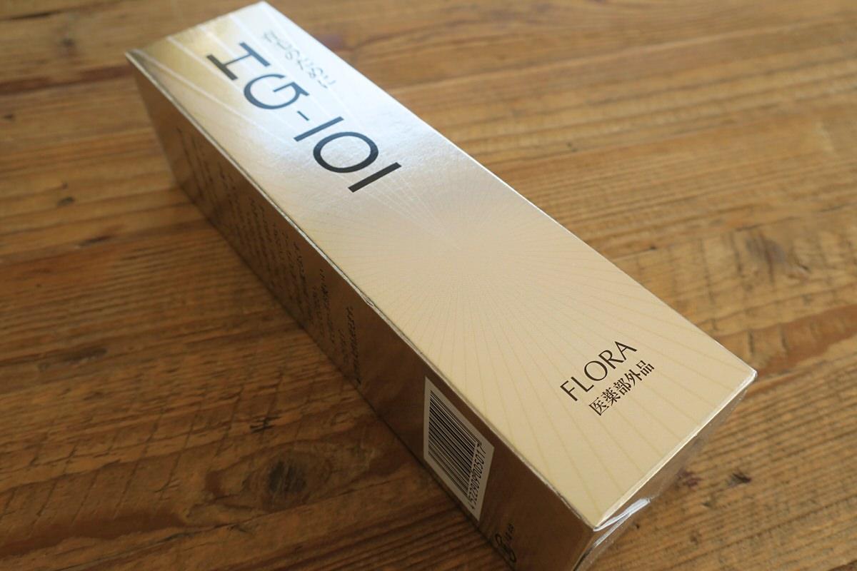 フローラ『薬用育毛剤HG-101』を買ってみた